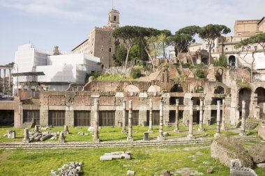 Roman Forum. Here there was the social life of the city. Rome