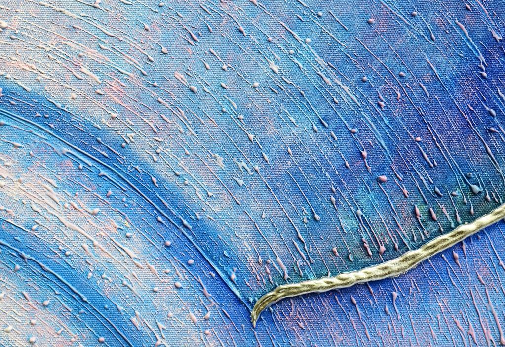 Super original peinture abstraite Acrylique technique mixte sur toile  GV15