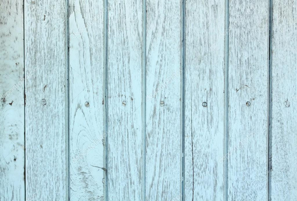 Blue vintage wood background