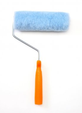 Paint roller, isolated