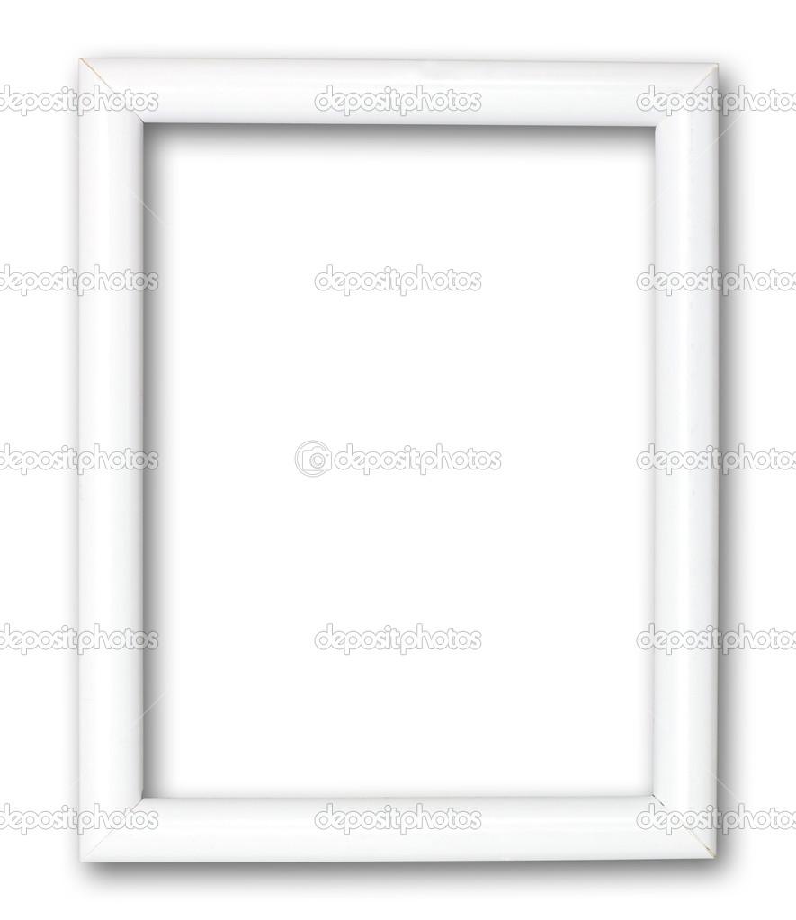 marco blanco aislado en blanco — Foto de stock © bennyartist #13506341