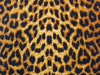 Leopard skin decorative background