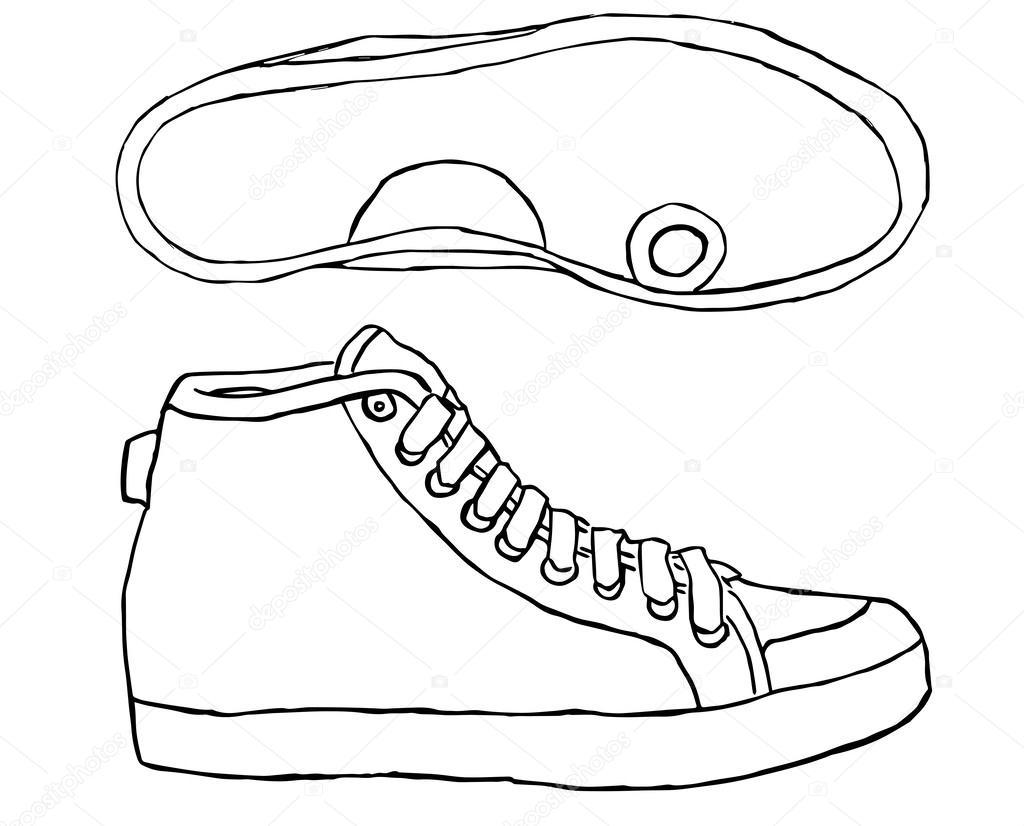Imágenes: Dibujo Zapato Tenis