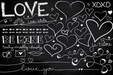 Valentine's Day Chalkboard