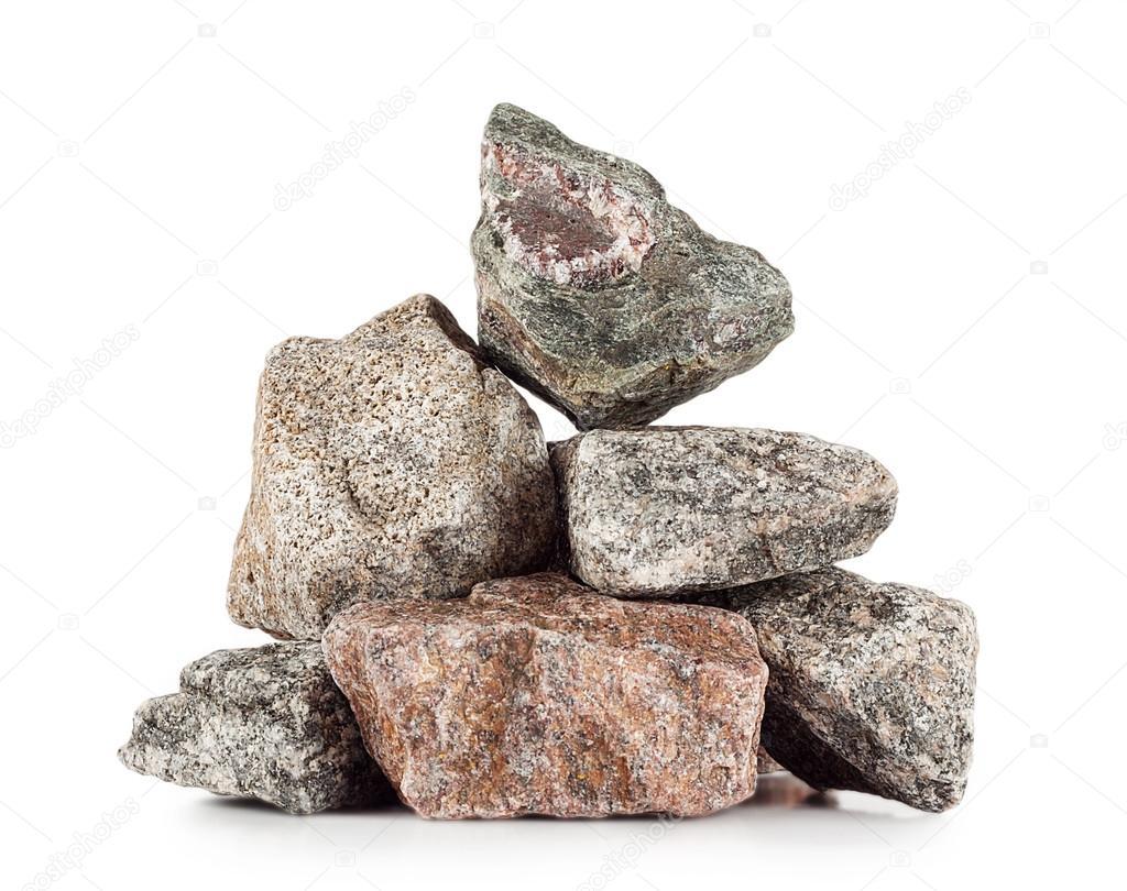 Pile of granite stones