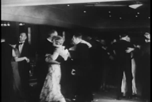 A nightclub tánc párok