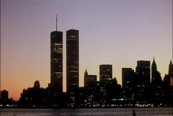posouvání Panorama new Yorku