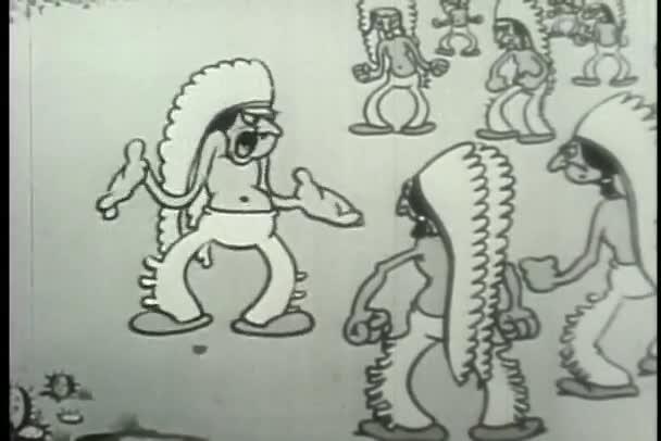 Native Američané s aerodynamickým čepice