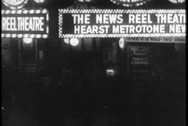 sestřih - new york city v noci