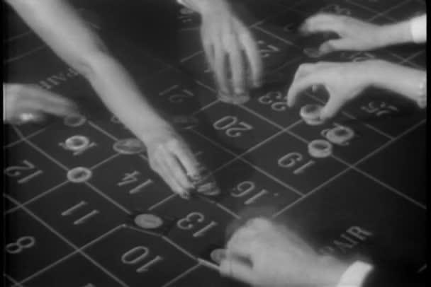 umístění sázky v ruletě