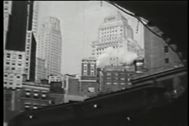zvýšená metro, new york city, třicátých let