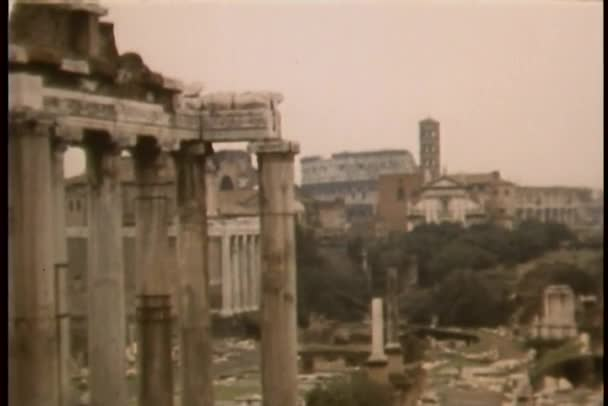 výhled na Řím, Itálie