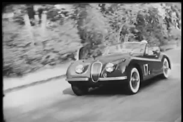 Országúti verseny sportkocsi