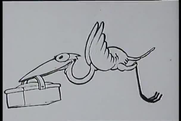 Madár repül, a csőr kosár