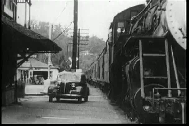 vlakem do železniční stanice
