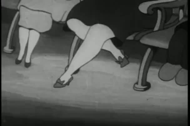 donna schiaffi uomo innocente quando cane e gatto strofinare contro la gamba in cinema