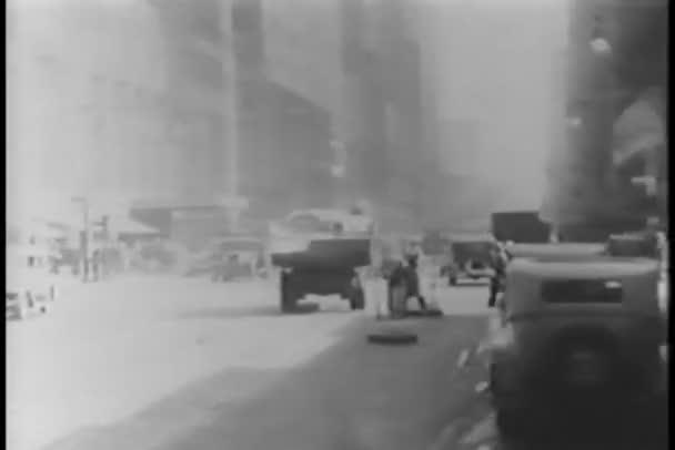 policisté řízení dopravy v new york city