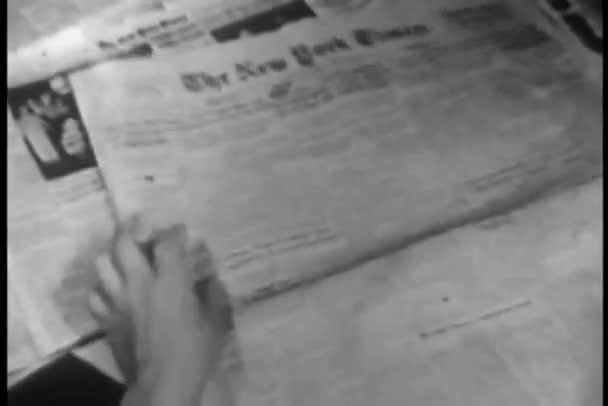 osoba krouží položky v new york times