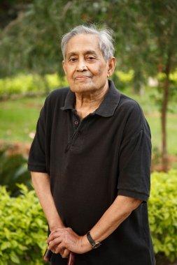 Elderly Asian man