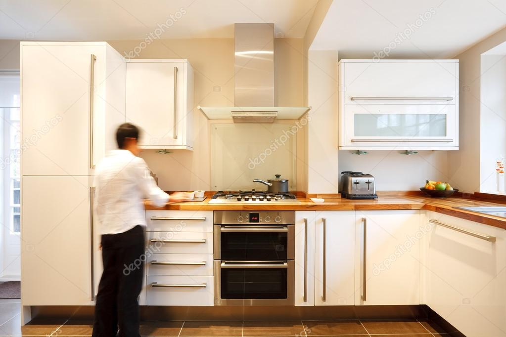 Stylish kitchen — stock photo © paulmaguire #13130110