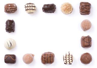 Chocolate border