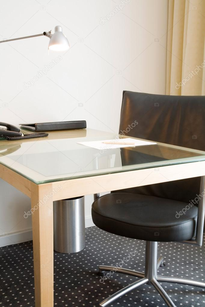 office desk and chair stock photo paulmaguire 13275002