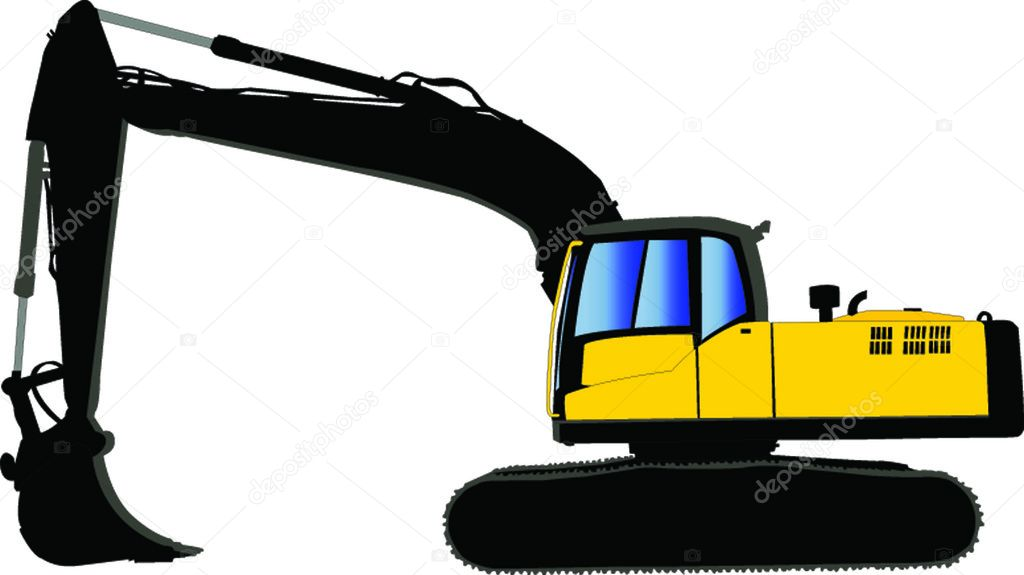 EPS Vector - Set of various transportation and construction machinery. heavy  equipment. Stock Clipart Illustration gg90347542 - GoGraph