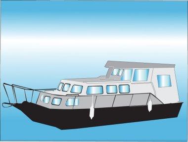 Boats - vector