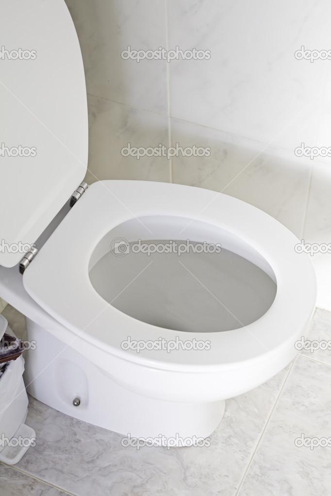 Weisse Toilette Stockfoto C Celiafoto 26295359