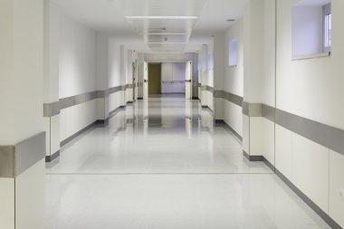 Entry empty hospital