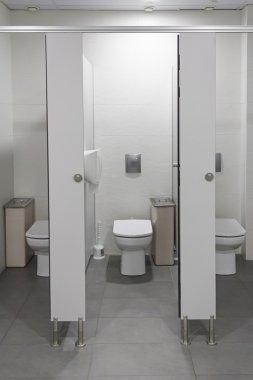 Bathrooms open