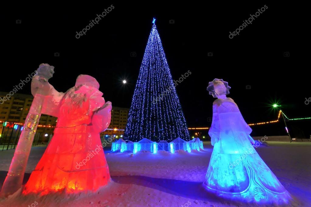 Neues Jahr - ein Urlaub in Nadym, Russland - 25. Februar 2013 ...