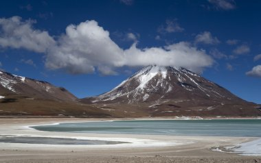 Nature of mountain Bolivia