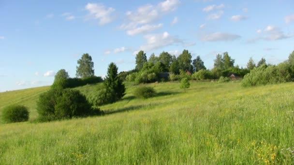 venkovské krajině