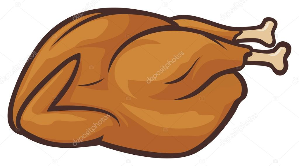 Fried Chicken Clip Art: Stock Vector © Tribaliumivanka #12678207