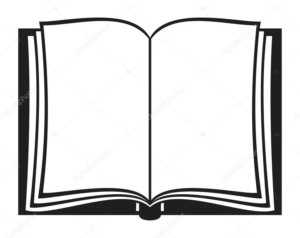 open book stock vector tribaliumivanka 12679317 rh depositphotos com book vector ai free book vector png