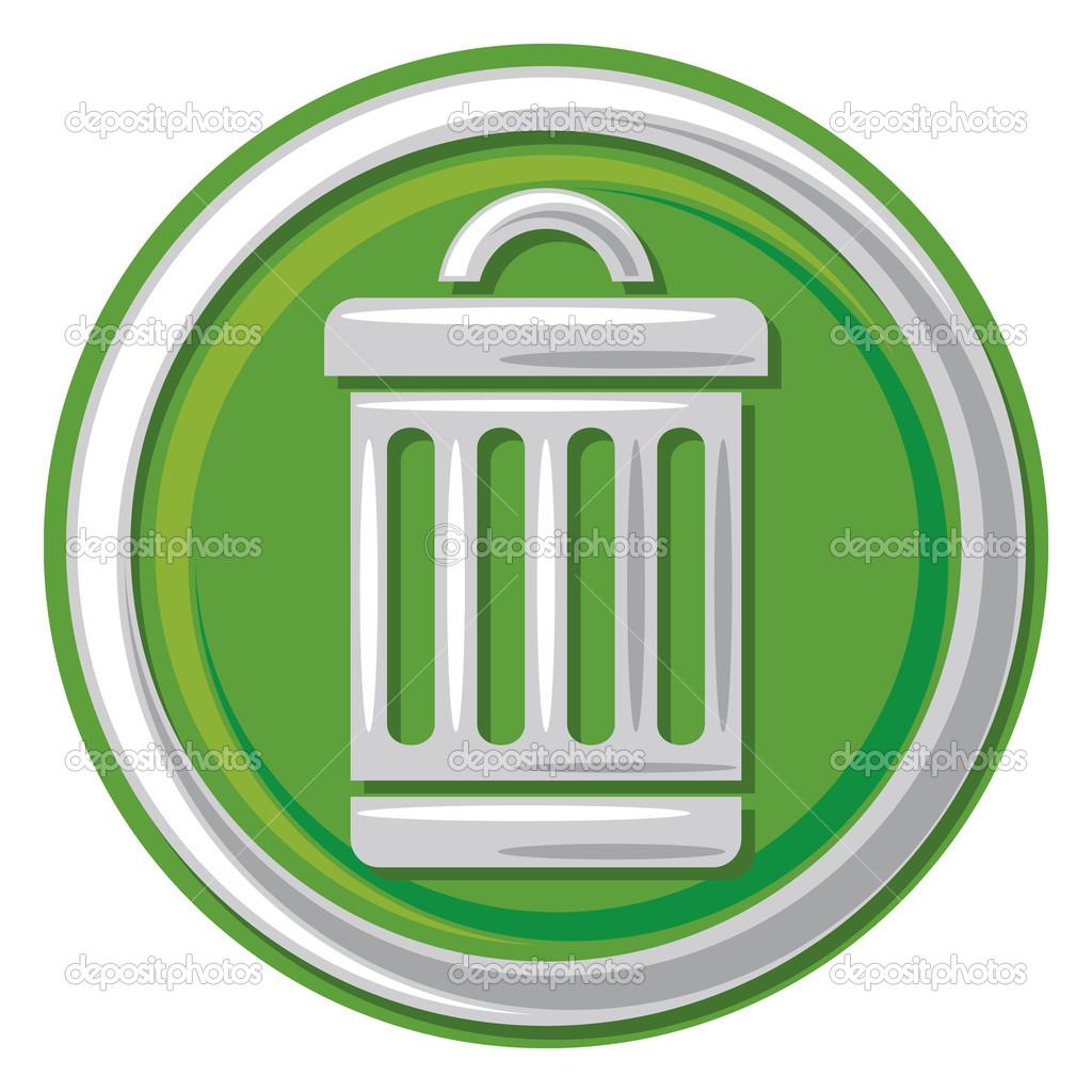 trash can icon trash trashcan button trash can symbol ストック