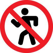 Nezadávejte symbol (zákaz vjezdu, není povoleno)