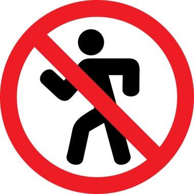 "Картина, постер, плакат, фотообои ""не въезжайте (запрещающий знак, запрещено) )"", артикул 26763415"