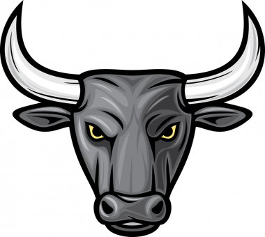 Black bull head