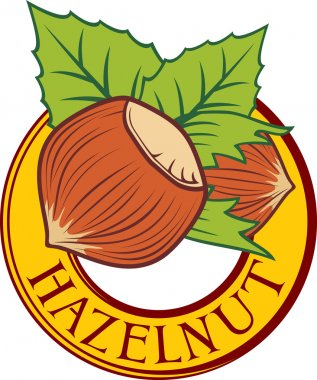 Hazelnut label