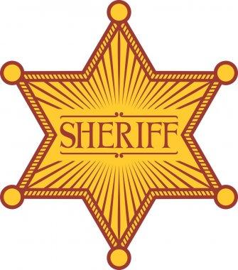 Vector sheriff's star