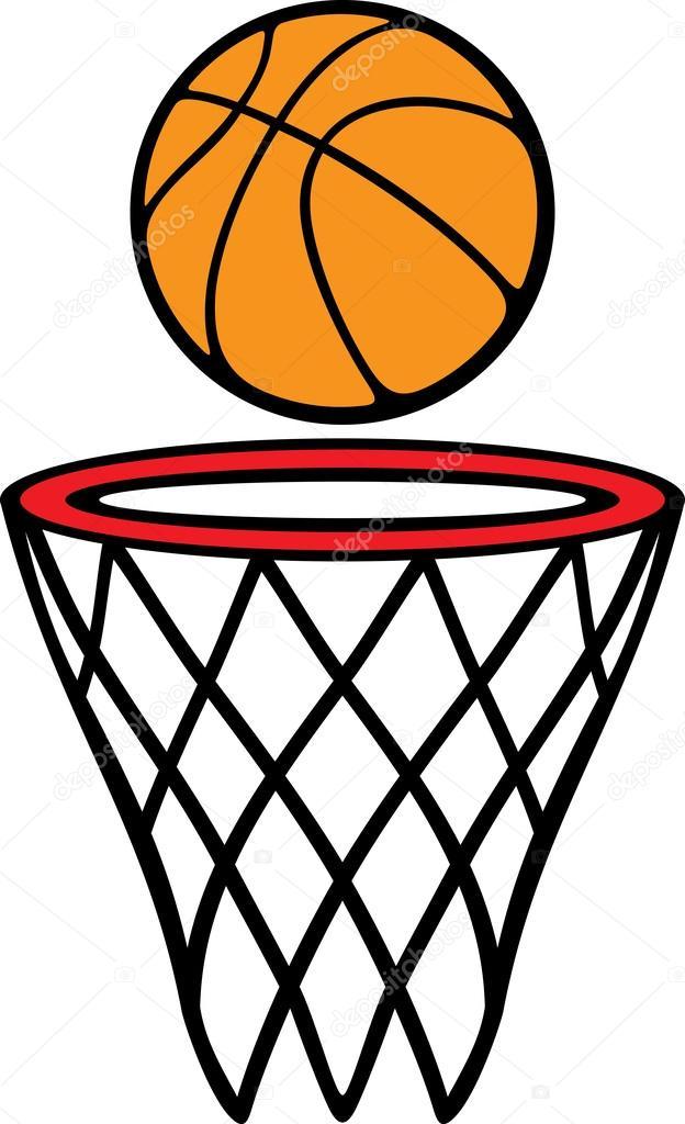 bola e cesta de basquete vetores de stock tribaliumivanka 26876815