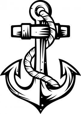 Anchor vector illustration
