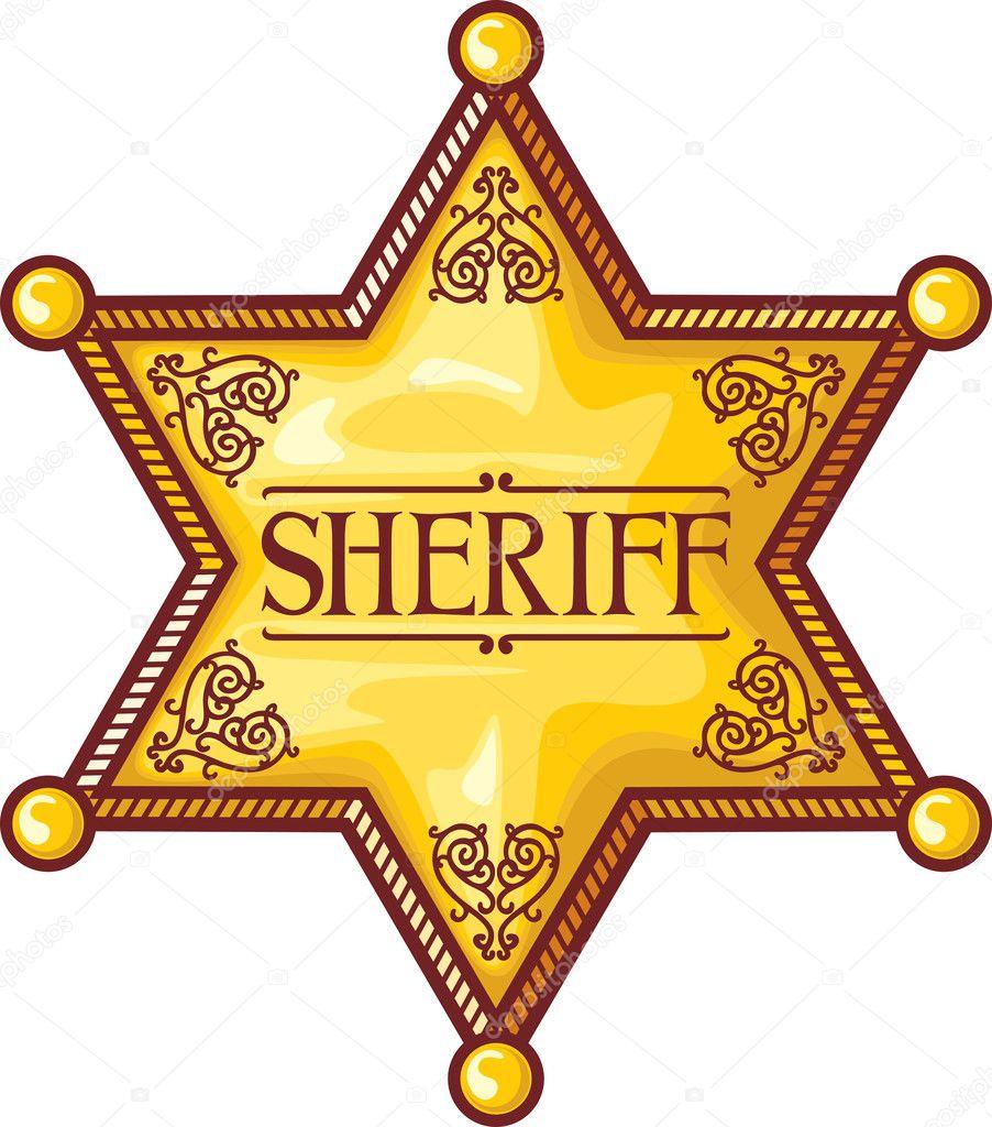 vector sheriff s star sheriff badge sheriff shield stock vector rh depositphotos com county sheriff badge vector sheriff badge vector art