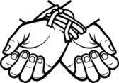 Photo Hands tied