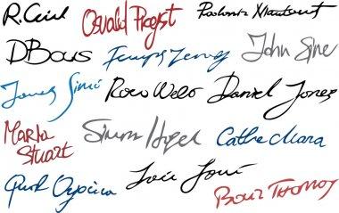Signature set (Set of imaginary signature)