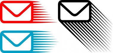Mail icon set