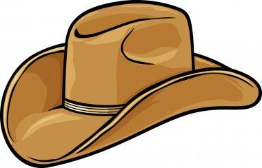 Cowboy hat stock vector