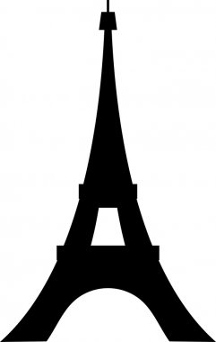 Paris eiffel tower design (eiffel tower Icon, sketch of the paris eiffel tower)